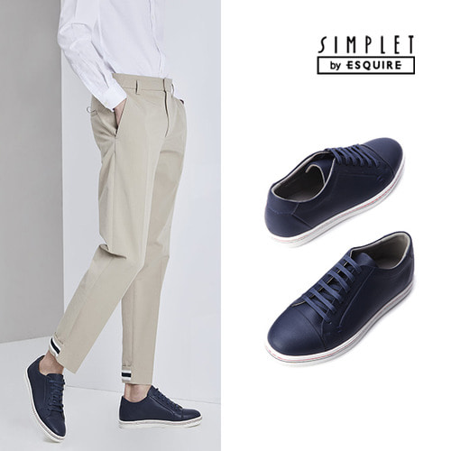 [Simplet By Esquire]남성 데일리 스니커즈 블루
